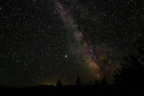 Free stock photo of astrophotography, jupiter, milky way, saturn