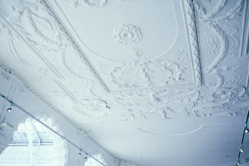 Ornamental ceiling in Museum of Applied Arts