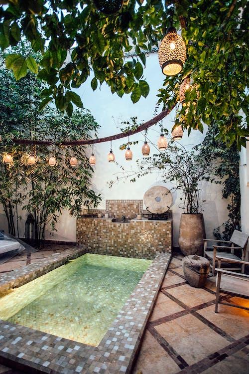 Tropisches Resort Spa Mit Marokkanischem Badebecken