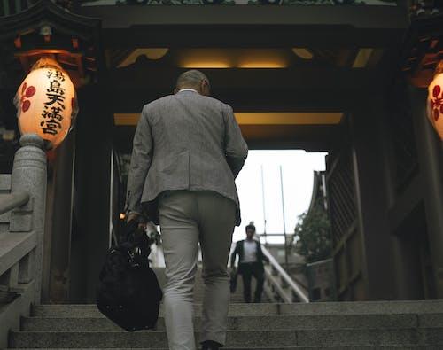 Gratis lagerfoto af asiatisk, forretningsmand, frakke