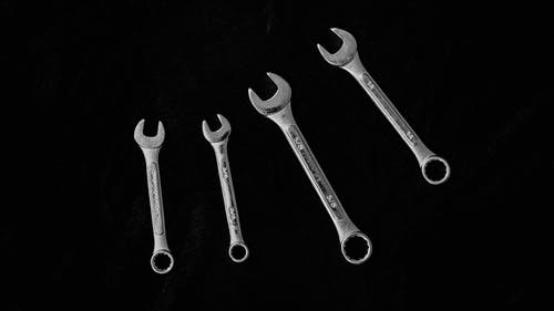 A Set of Silver Wrenches