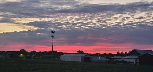 Free stock photo of beautiful sky, Beautiful sunset, colors of sunset