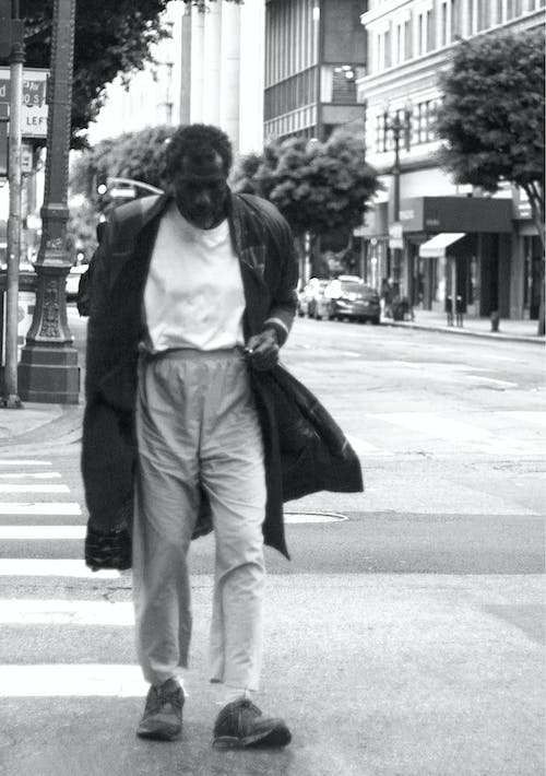 Free stock photo of homeless, los angeles, person walking