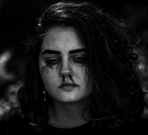 Бесплатное стоковое фото с абстрактный портрет, девочка, девушка