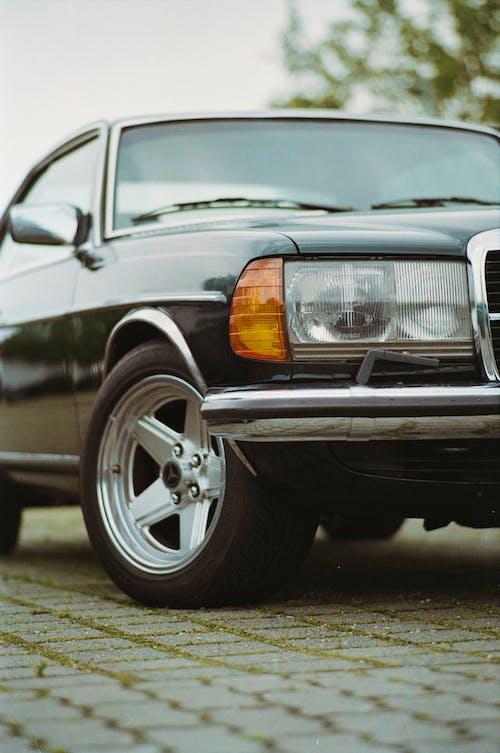 Бесплатное стоковое фото с Benz, ce, chrome, fender