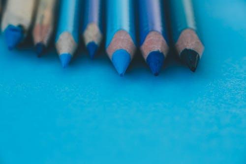 Free stock photo of backgound, blue, pen