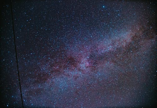 Free stock photo of farbenfroh, galaxie, helle sterne