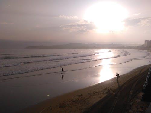 Free stock photo of beach, playa, reflejos