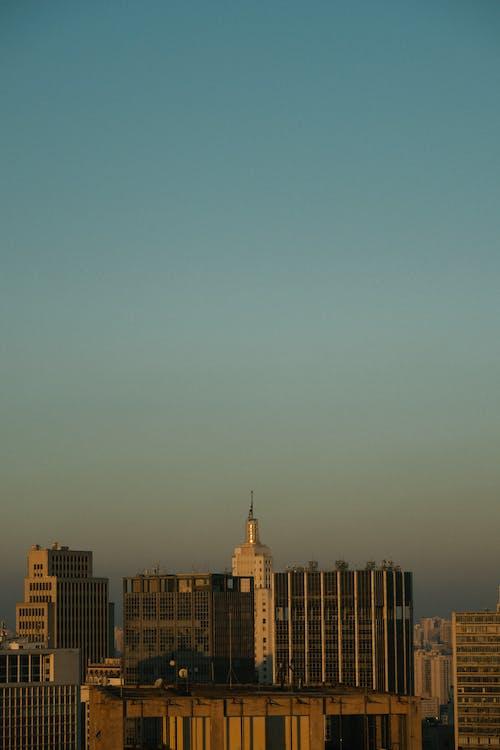 Ingyenes stockfotó alkonyat, belváros, építészet, épület témában