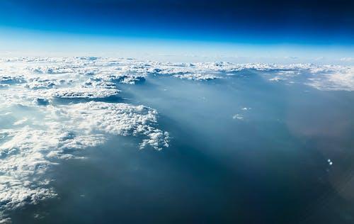 Free stock photo of above clouds, beautiful sky, blue sky, cloud