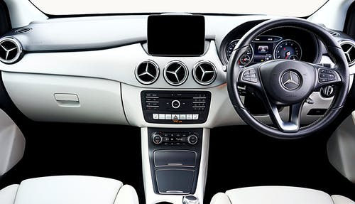 Black and Silver Car Steering Wheel