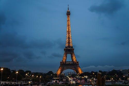 Eiffel Tower during Nighttime