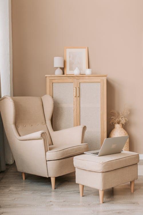 Darmowe zdjęcie z galerii z apartament, czarnoskóry, dom, fotel