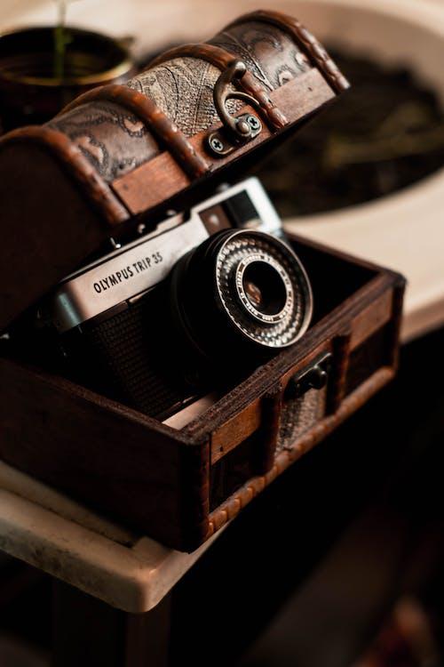 คลังภาพถ่ายฟรี ของ กล้อง, กล่องถ่ายรูป, กะทัดรัด, การถ่ายภาพ