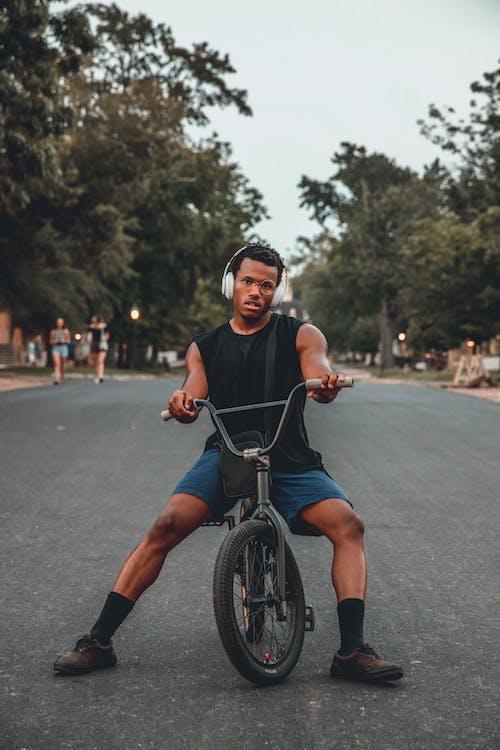 Základová fotografie zdarma na téma akce, biker, cvičení, cyklista