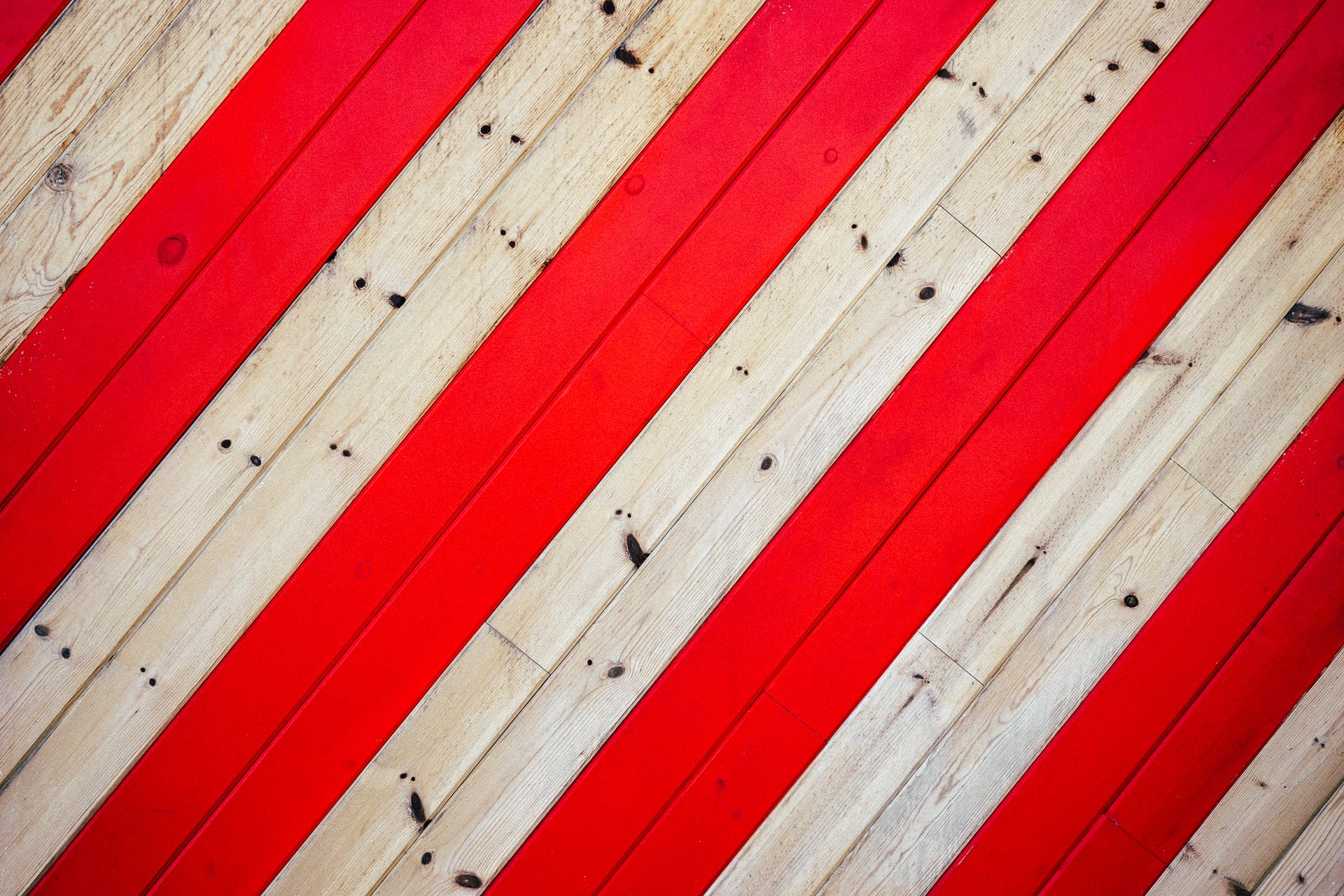 Brown Wooden Board With Red Lines