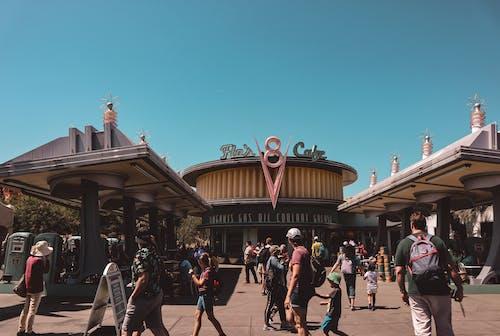 Flo's V8 Cafe Inside Disney California