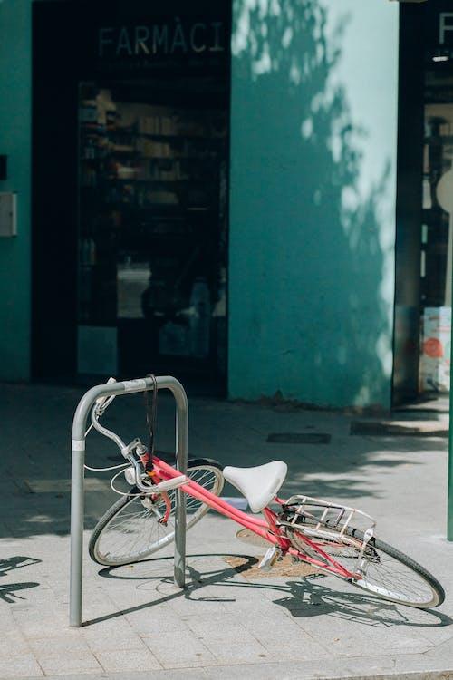 スチール棒, セキュリティ, バイクの無料の写真素材