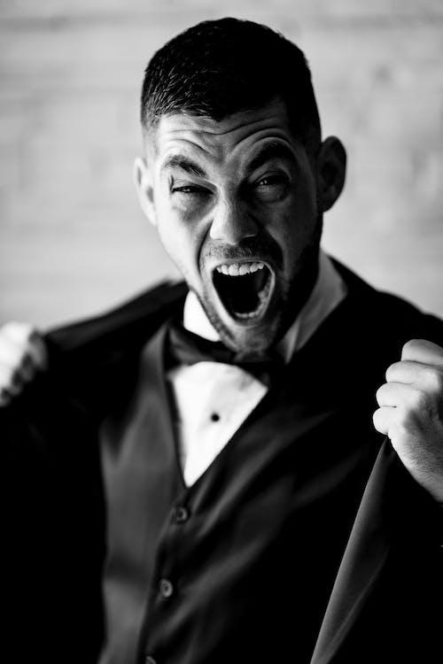 Foto profissional grátis de adulto, boca, bravo