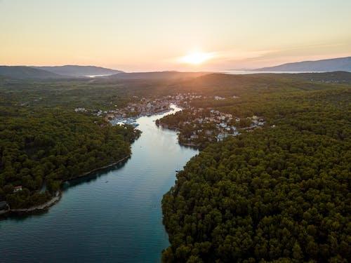 Základová fotografie zdarma na téma cestování, dřevo, hora, jezero