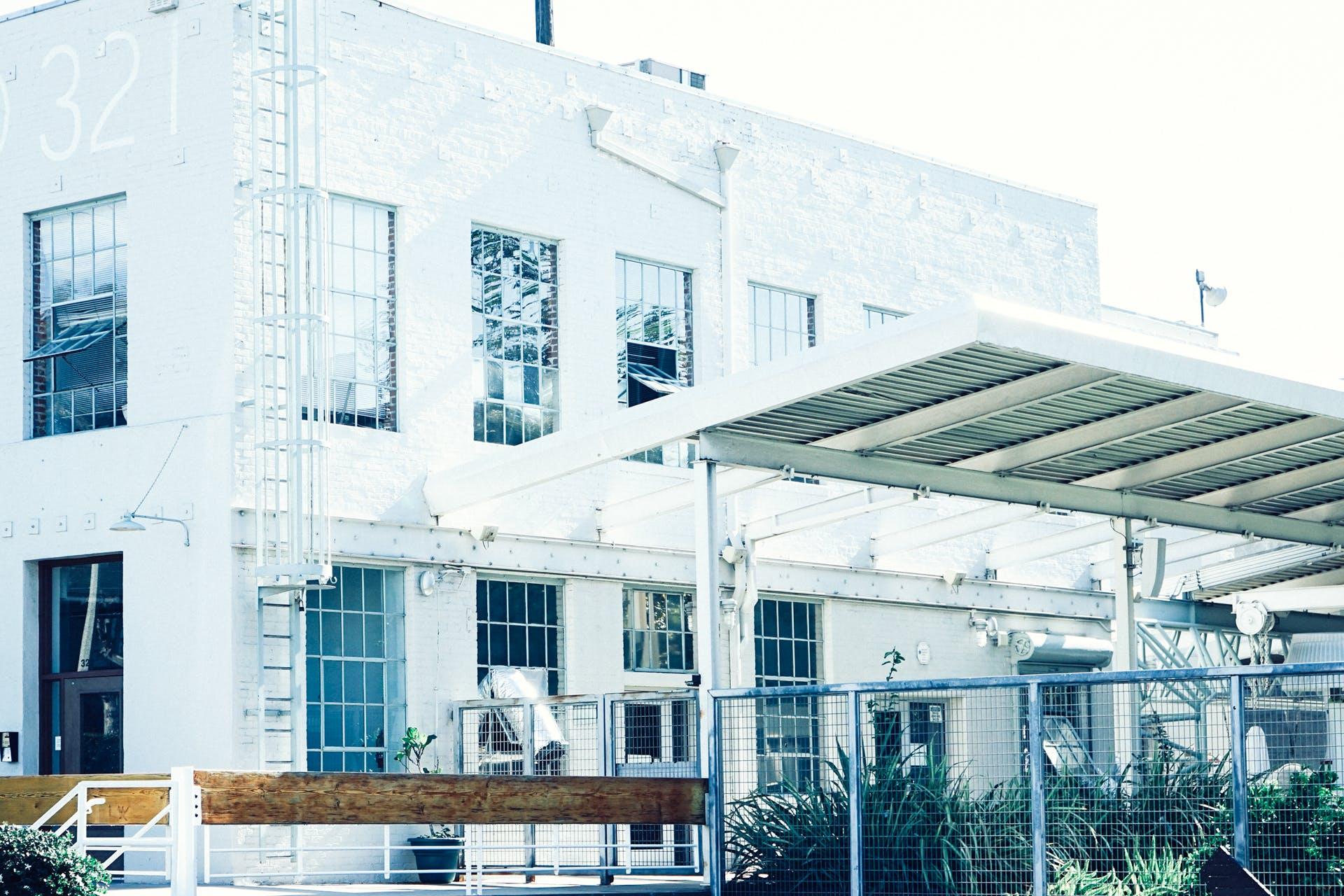 Free stock photo of house, warehouse, white