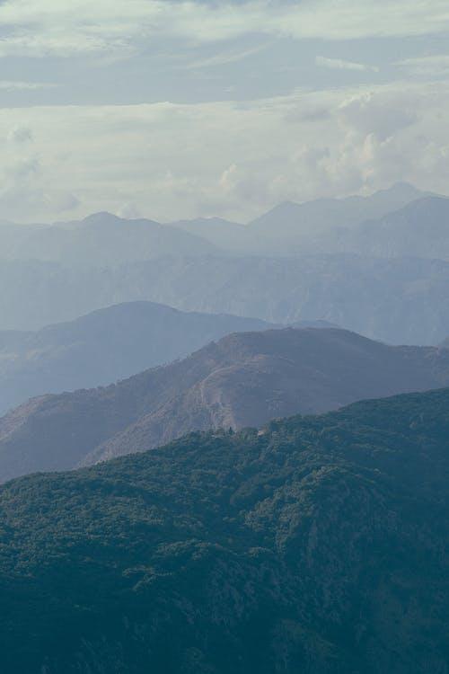 Picturesque view of mountainous terrain