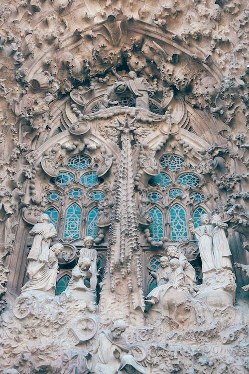 Ingyenes stockfotó alacsony szög, alulról, barcelona, bazilika témában
