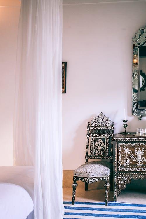 Bedroom interior in Moroccan style