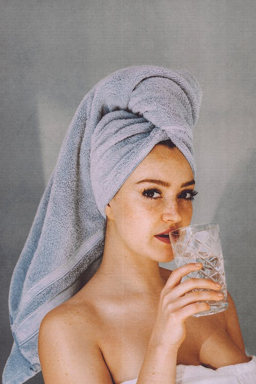 best way to dry hair after shower