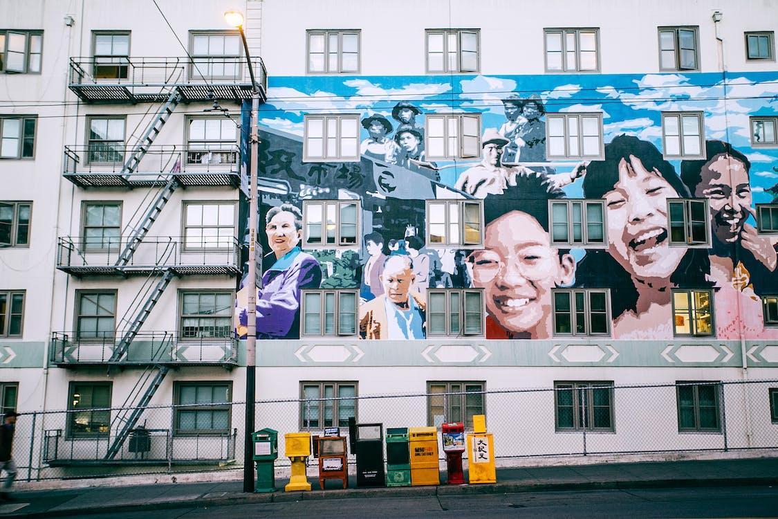 Kostenloses Stock Foto zu asphalt, außen, balkon
