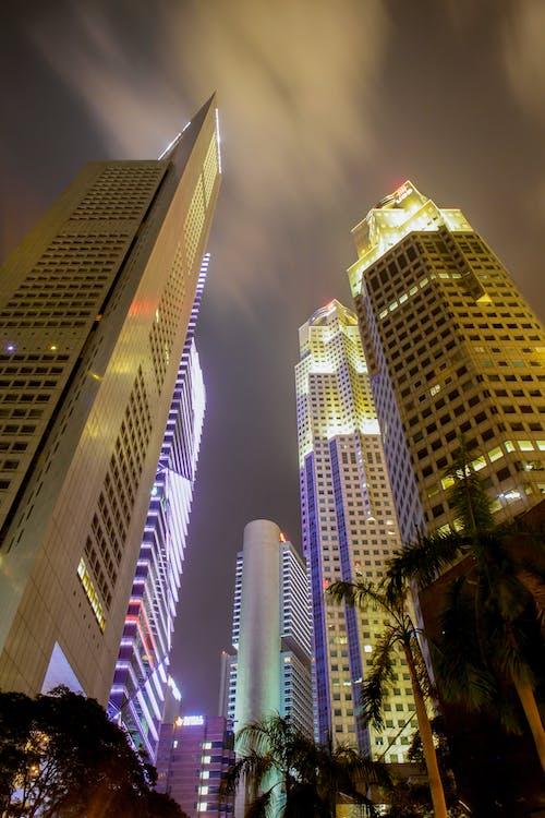 Fotos de stock gratuitas de ciudad, edificios, noche