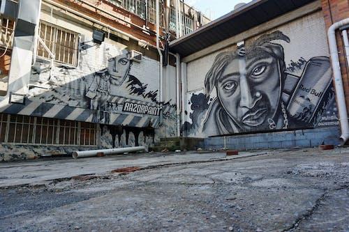 Free stock photo of back streets, street art, urban city