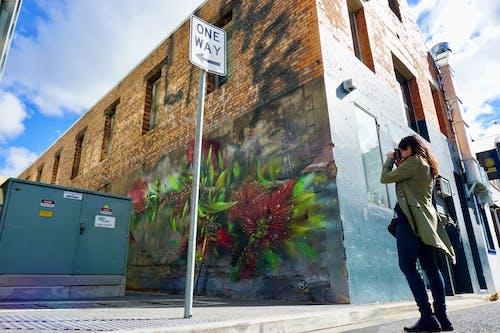 Free stock photo of street art, taking photo, urban city