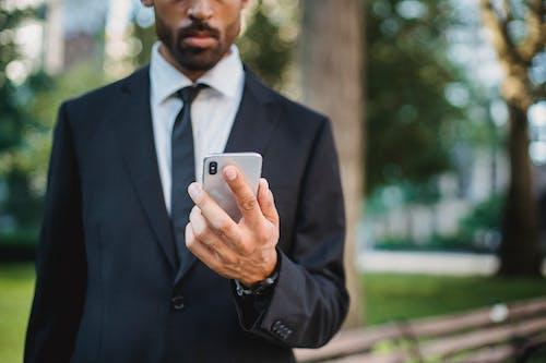 ハンド, 匿名, 携帯電話の無料の写真素材