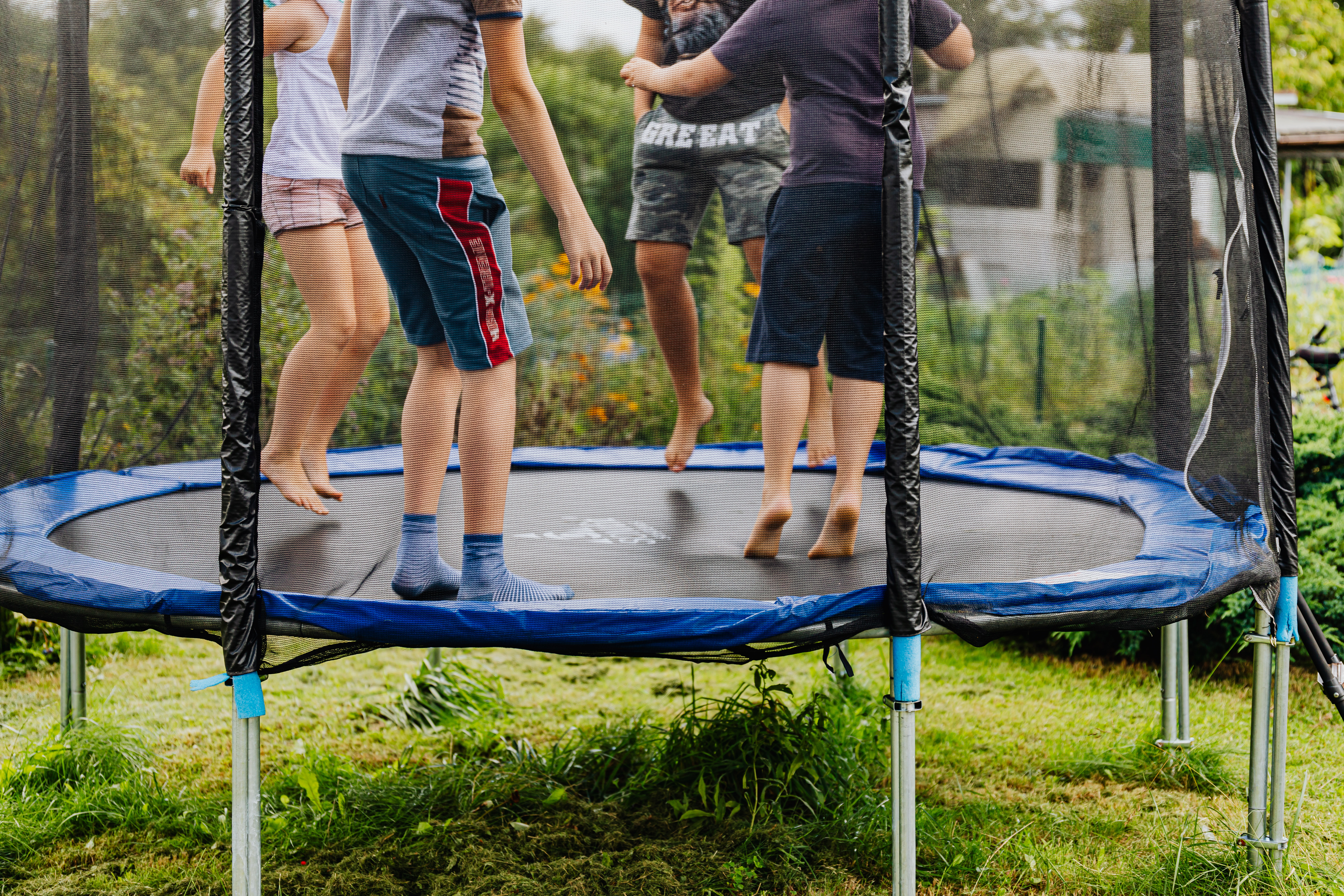 All Age Perfect Size Trampolines