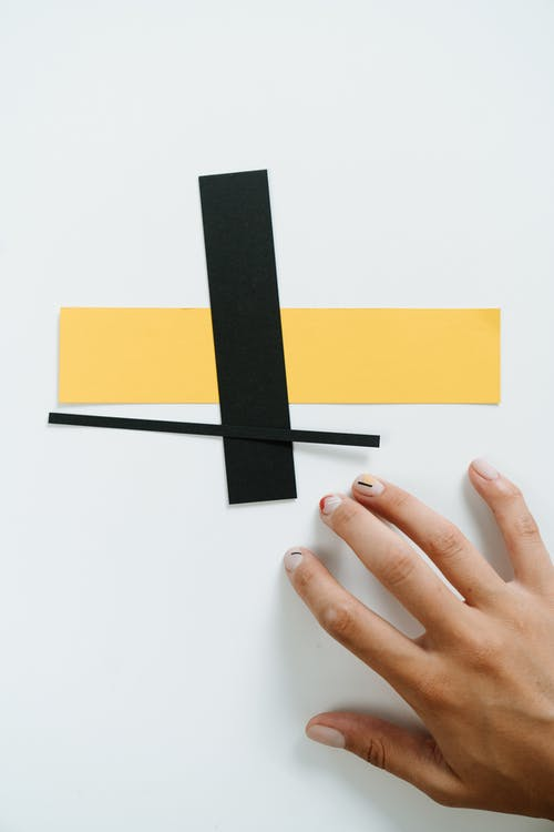 Black and Yellow Sticky Notes