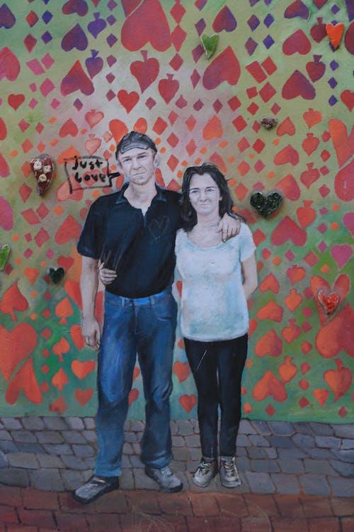 Immagine gratuita di amore, arte di strada, ceramica