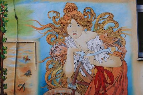 Immagine gratuita di arte di strada, bicicletta, distretto di nadodrze