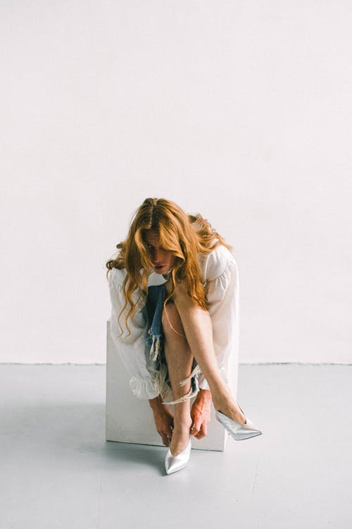 Gratis stockfoto met anoniem, blauwig, blond, blondine