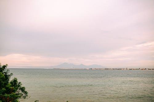 Photos gratuites de aube, bateau, bord de mer, brouillard