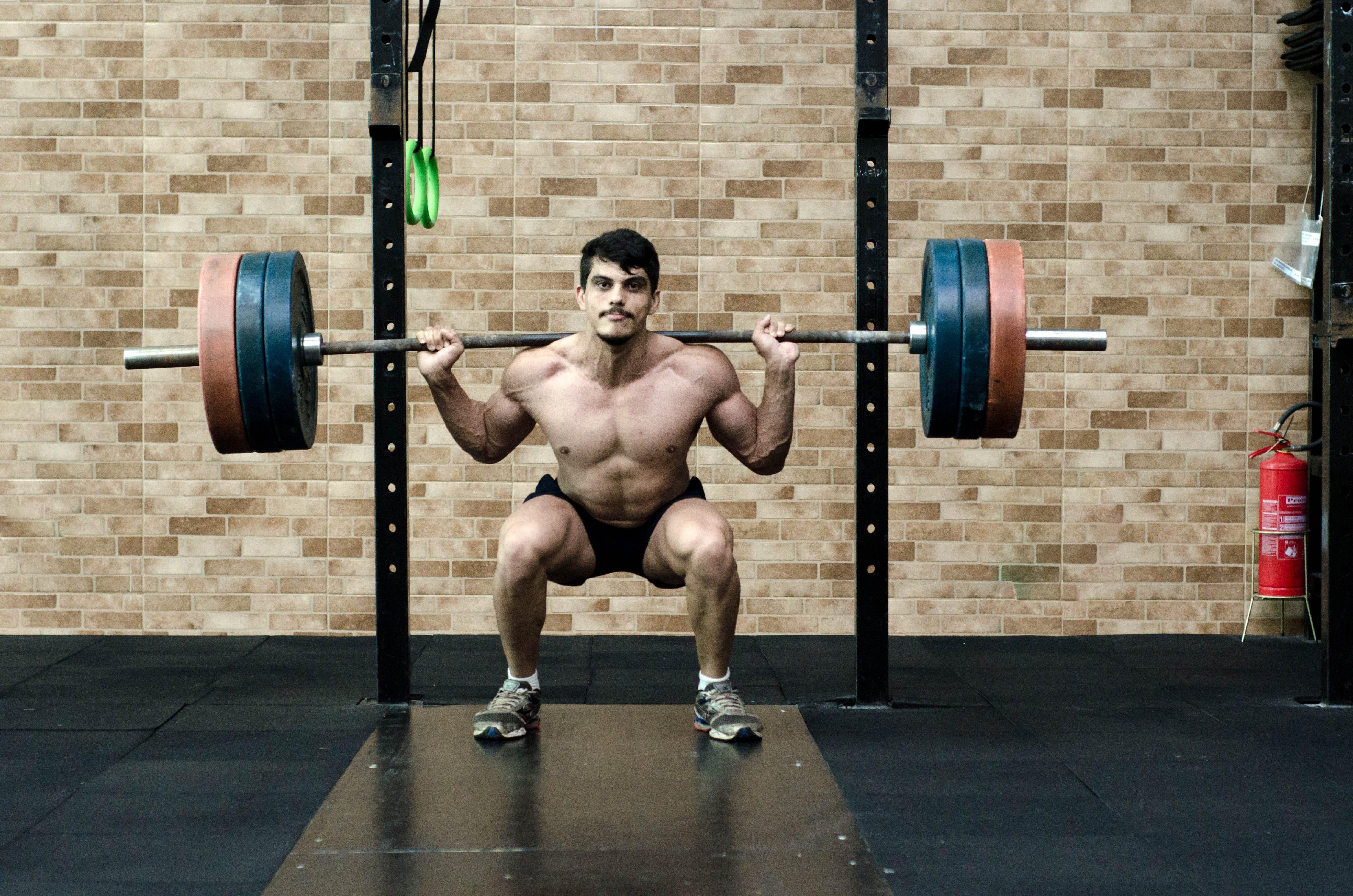 de atleta, bem-estar, bíceps, corpo