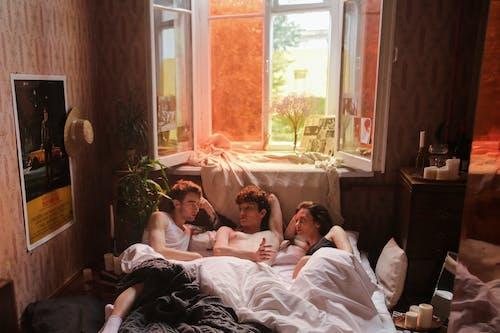 Бесплатное стоковое фото с в помещении, влюбленные, группа
