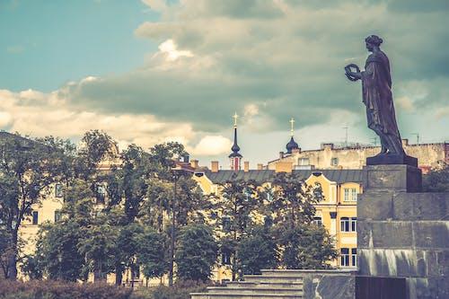 不朽的雕塑, 地平線, 城市, 城鎮 的 免费素材照片