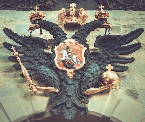 俄國, 徽章, 旅遊景點, 王冠 的 免费素材照片