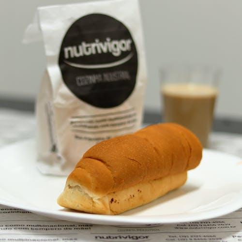 Free stock photo of cafe com leite, café da manhã, comida, embalagem