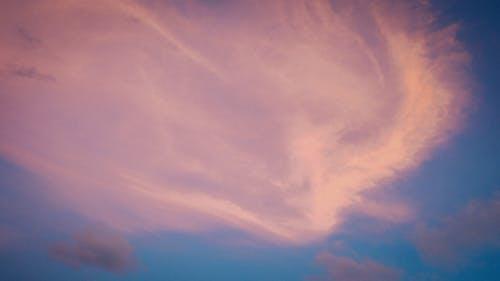 구름 모양, 모양, 일몰, 핑크 하늘의 무료 스톡 사진