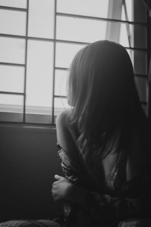 Foto profissional grátis de bw, fotografia bw, garota, garota asiática