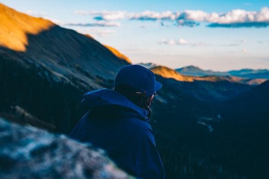 Kostenloses Stock Foto zu landschaft, berge, himmel, sonnenuntergang
