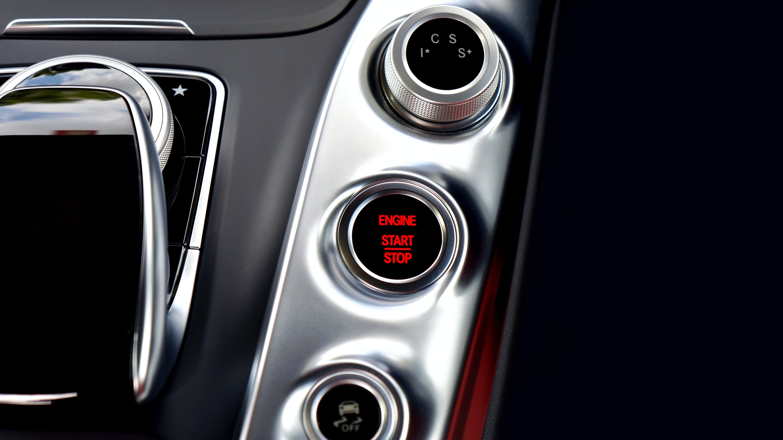 Foto d'estoc gratuïta de amg gt, automòbil, automoció, botó