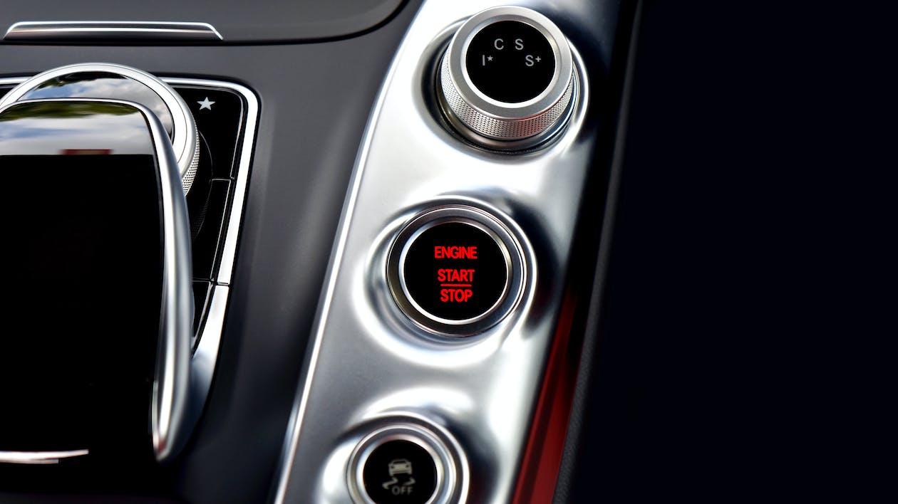 Grey Control Panel